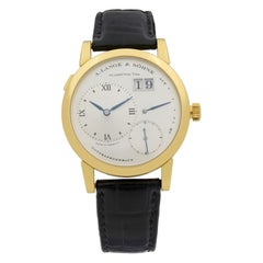 A. Lange & Söhne Lange 1 18 Karat Yellow Gold Manual Wind Men's Watch 101.022