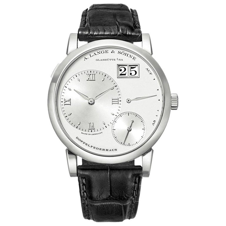 A. Lange & Sohne Lange 1 Platinum '101.025' For Sale