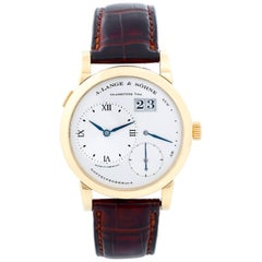 A. Lange & Söhne Lange 1 Yellow Gold Men's Power Reserve Big Date Watch 101.022
