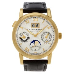 A. Lange & Sohne Langematik 310.032 E, Silver Dial, Certified and Warranty