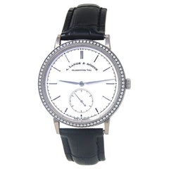 A. Lange & Sohne Saxonia 840.026, Silver Dial, Certified