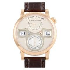 A. Lange & Sohne Zeitwerk Rose Gold Watch 140.032