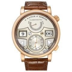 A. Lange & Sohne Zeitwerk Striking Time Rose Gold '145.032'