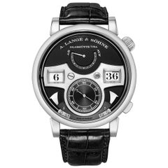 A. Lange & Sohne Zeitwerk Striking Time White Gold '145.029'