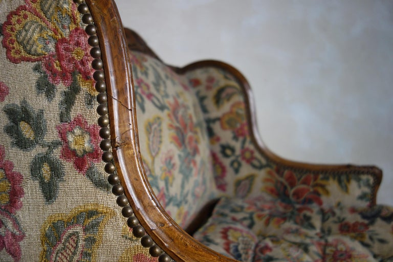 Large 18th Century French Chaise Longue, Day Bed 6