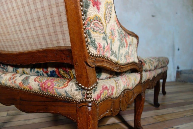 Large 18th Century French Chaise Longue, Day Bed 8