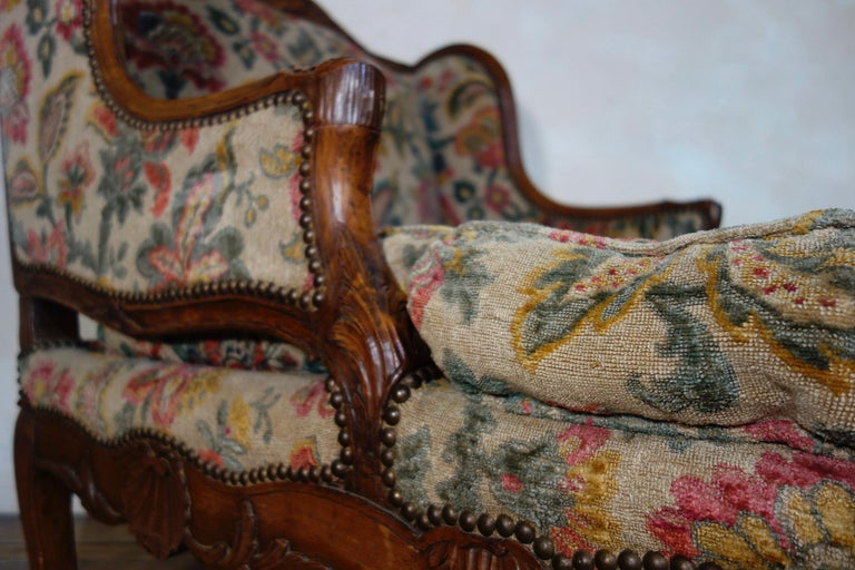 Large 18th Century French Chaise Longue, Day Bed 2