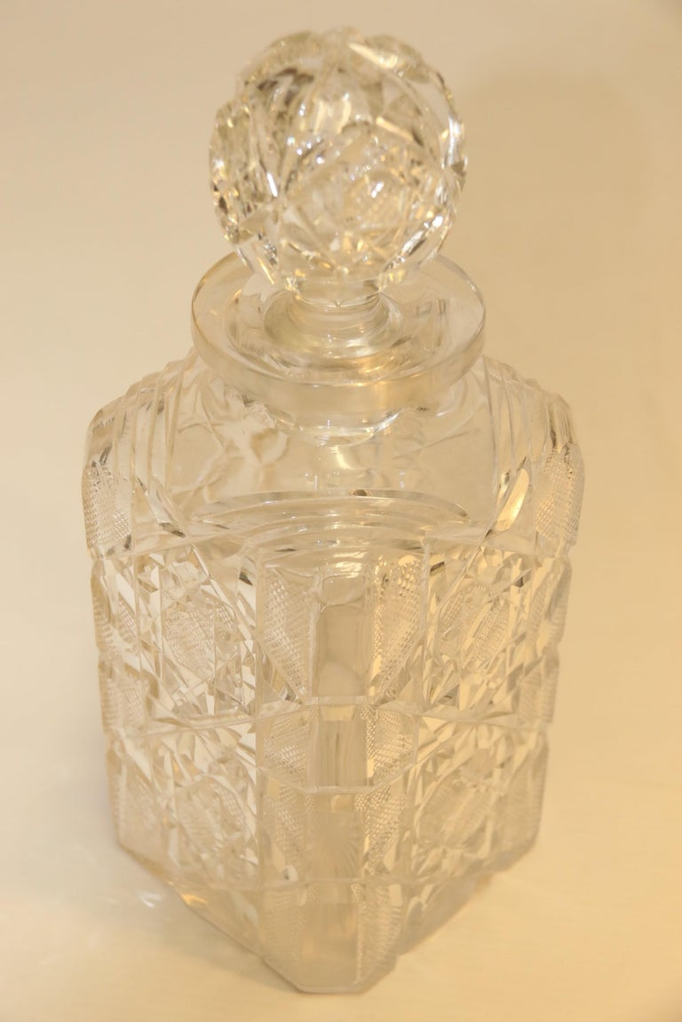 Large 19th Century English 3 Decanter Silver Plated and Oak Tantalus, Betjemann For Sale 15