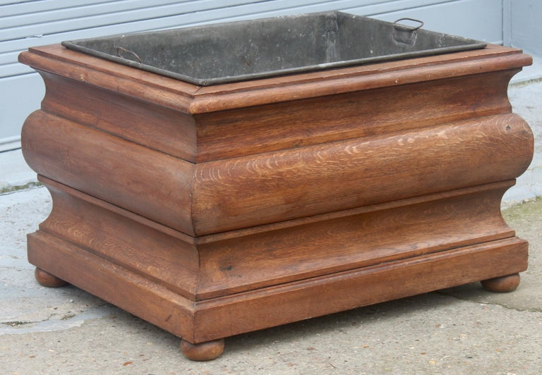 French Large 19th Century Louis XIV Style Planter For Sale