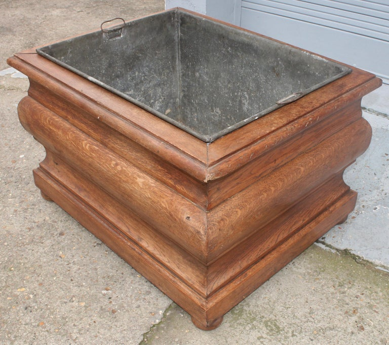 Large 19th Century Louis XIV Style Planter In Good Condition For Sale In Saint-Ouen, FR