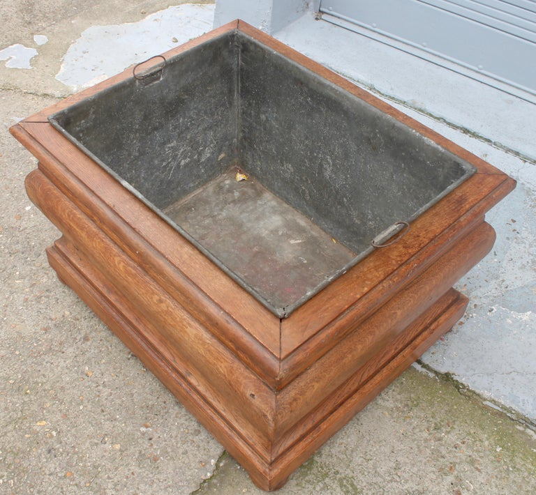 Late 19th Century Large 19th Century Louis XIV Style Planter For Sale
