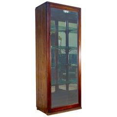 Large 19th Century Mahogany Shop Display Cabinet
