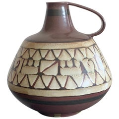 Large Alvino Bagni for Raymor Jug Vessel