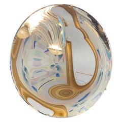 Large Concave Art Mirror