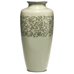 Large Japanese Cloisonne Vase, Meiji Period