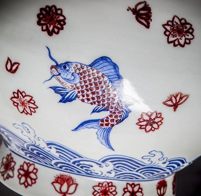Large Japanese Imari Vase For Sale 2