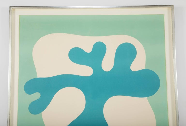 Modern Large Lithograph by Jean Arp Signed and Numbered For Sale