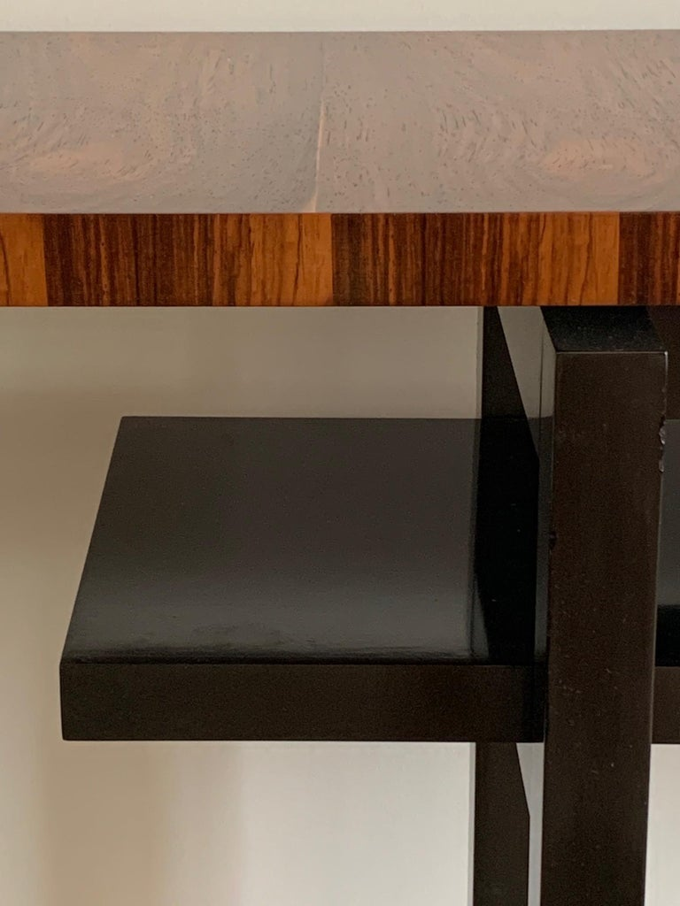 Large Modernist Console Table with Floating Top 4