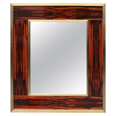 Large Modernist Wall Mirror