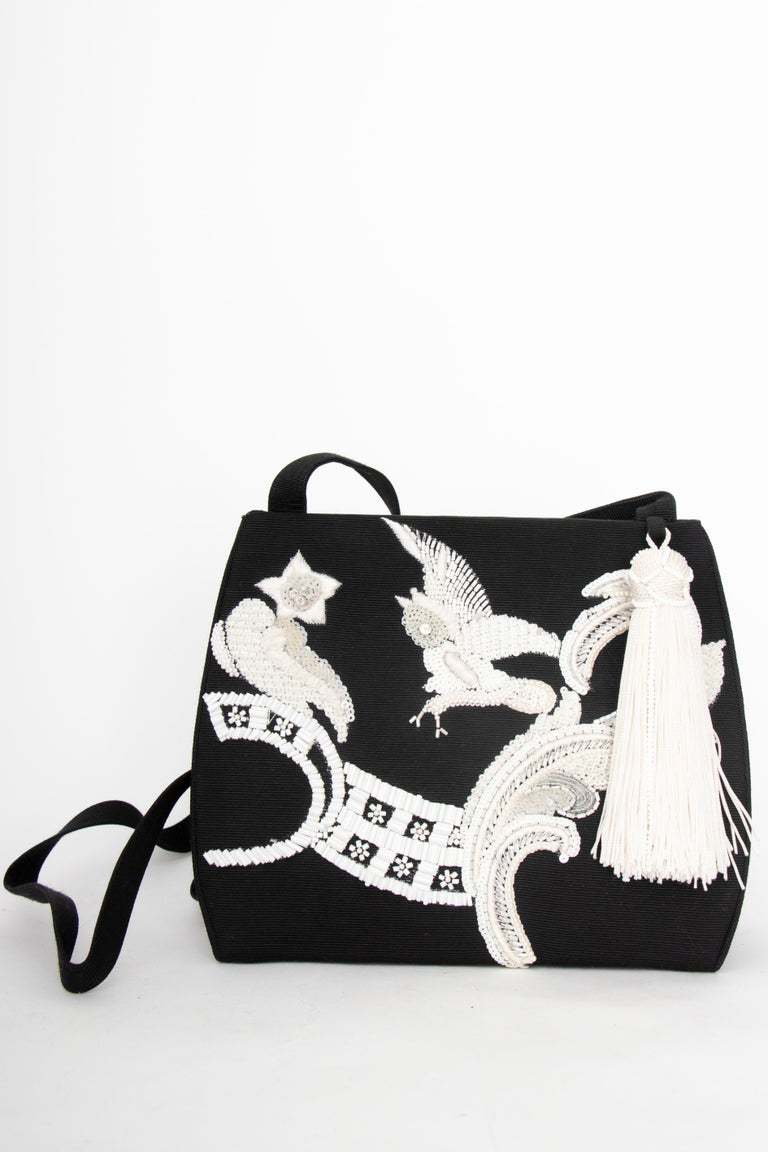 Women's or Men's A Late 1990s Christian Dior by John Galliano Beaded Evening Bag  For Sale