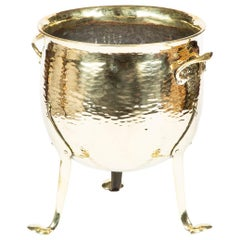 Late 19th Century 3-Legged Brass Planter