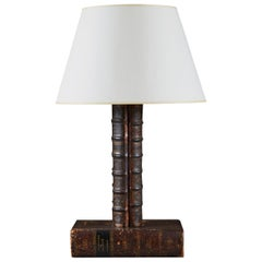 Late 19th Century Book Lamp, English Table Lamp