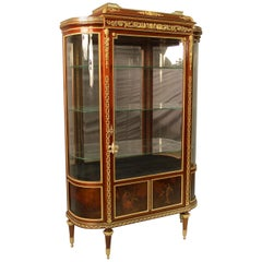 Late 19th Century Gilt Bronze Mounted Vernis Martin Vitrine by François Linke