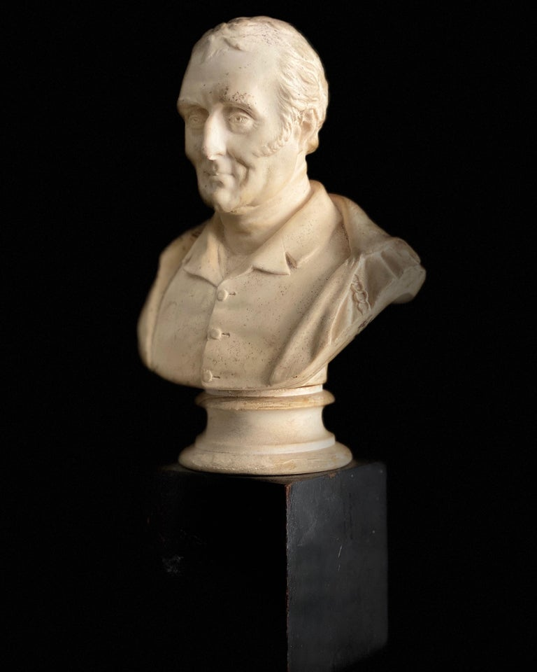 Late 19th Century Plaster Bust of the Duke of Wellington 5