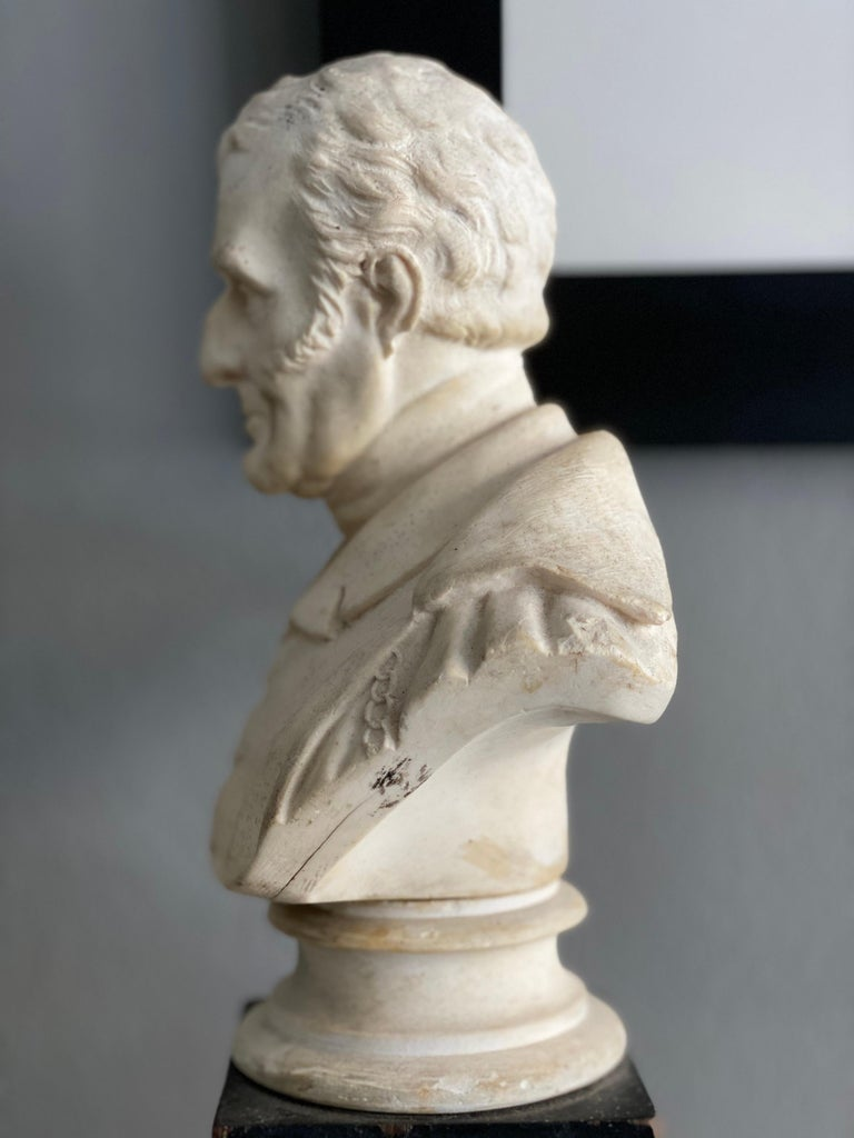 Late 19th Century Plaster Bust of the Duke of Wellington 1