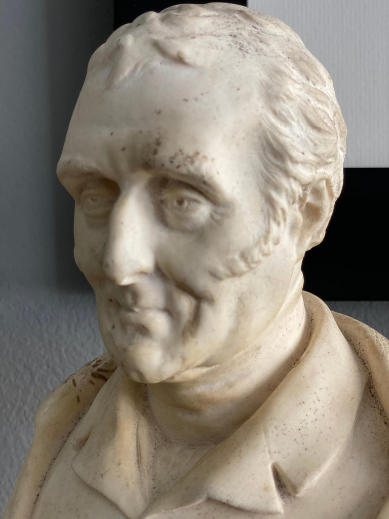 Late 19th Century Plaster Bust of the Duke of Wellington 2