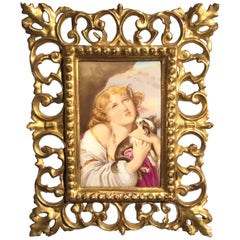 Late 19th Century Royal Vienna Porcelain Plaque