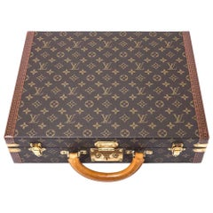 Late 20th Century Louis Vuitton President Case with Keys