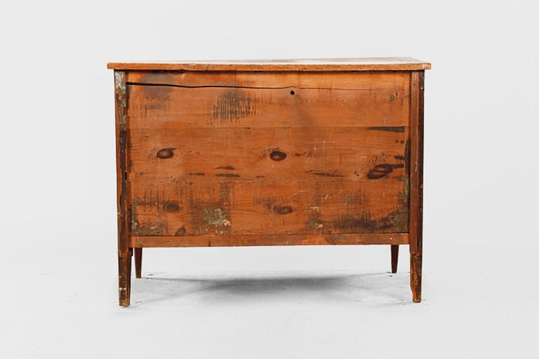 Woodwork Late Gustavian Chest of Drawers from 19th Century For Sale