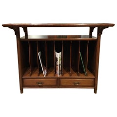 Late Victorian Period Aesthetic Walnut Stand