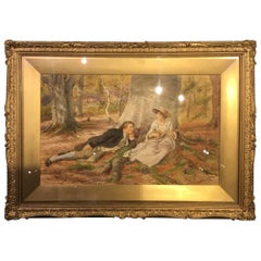 Late Victorian Period English Watercolour by George Goodwin Kilburne
