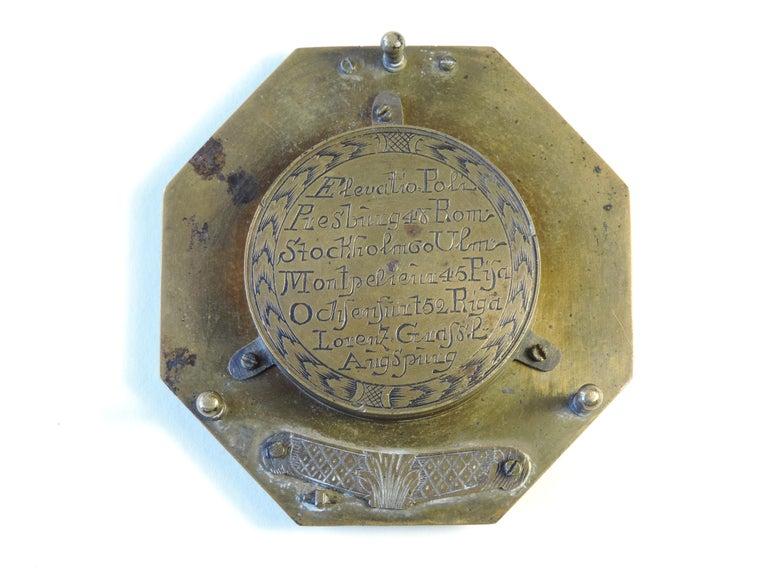 Louis XV Lorenz Grassl Augsburg Dial, German, Late 18th Century For Sale