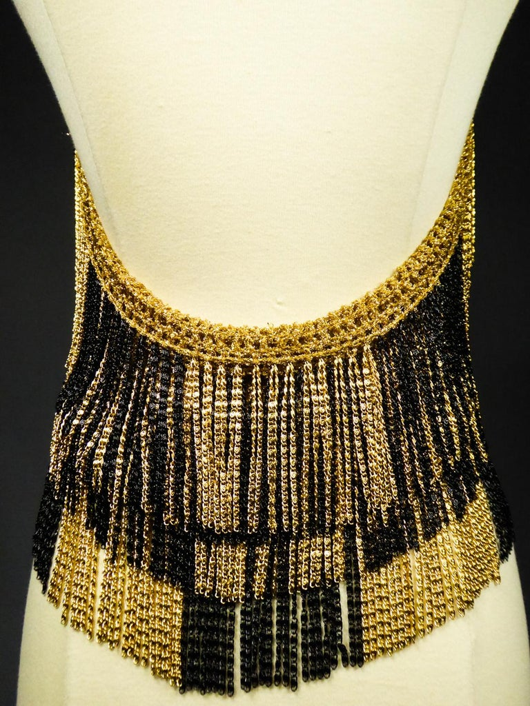 A Loris Azzaro French Couture Top in Lurex  Circa 1970 For Sale 6