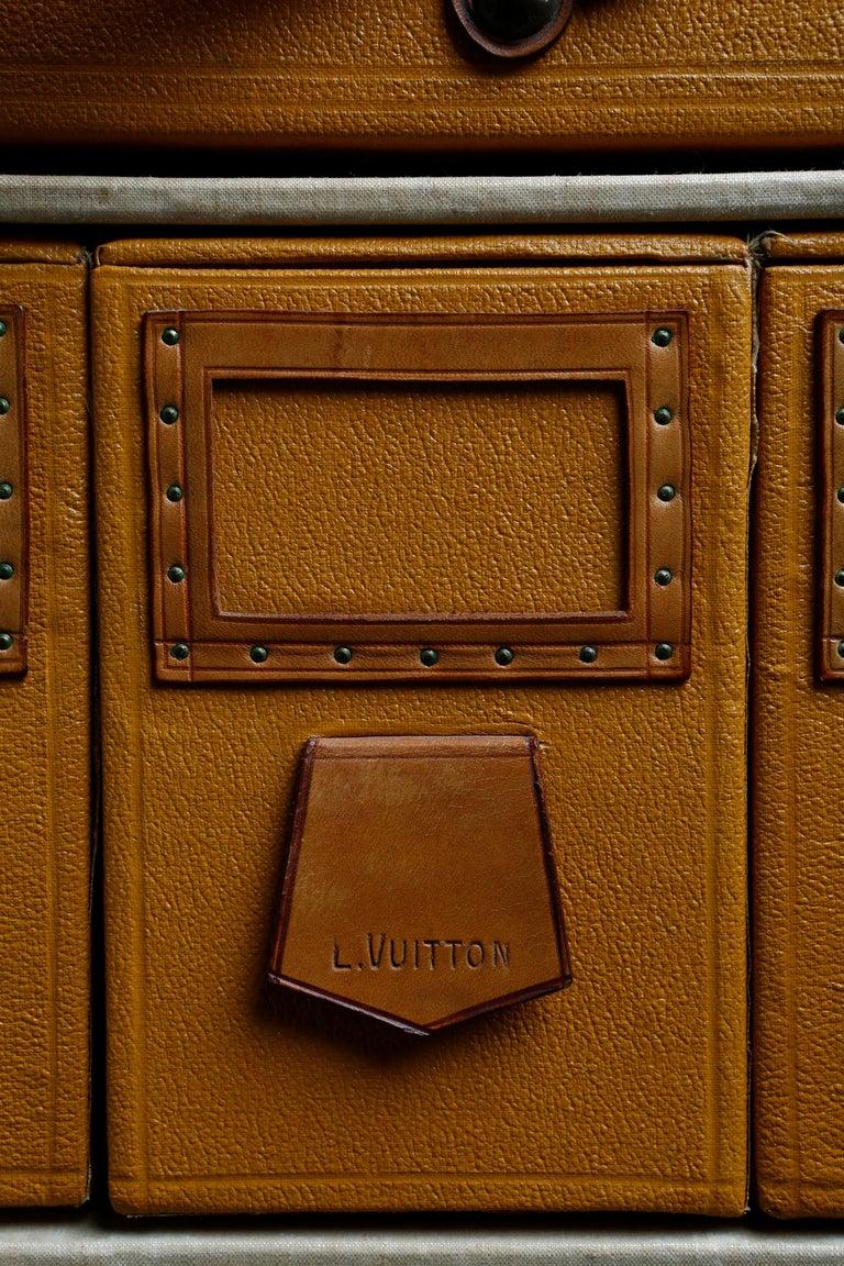 Louis Vuitton Shoe Secretaire, circa 1920 For Sale 7