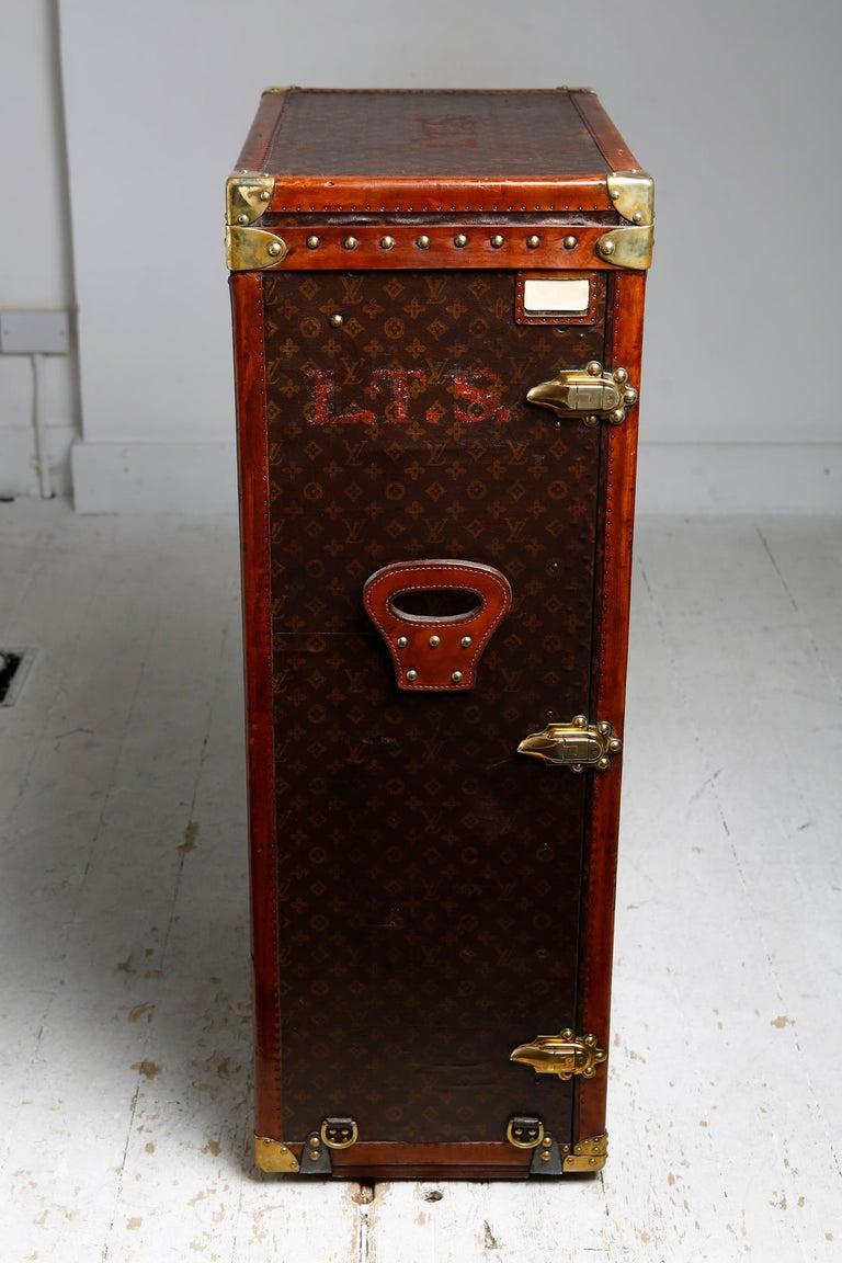 French Louis Vuitton Shoe Secretaire, circa 1920 For Sale