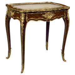 Louis XV Style Gilt-Bronze Mounted Table Vitrine by François Linke, circa 1900