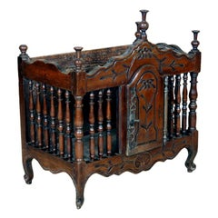 A Louis XV Walnut Panetiere