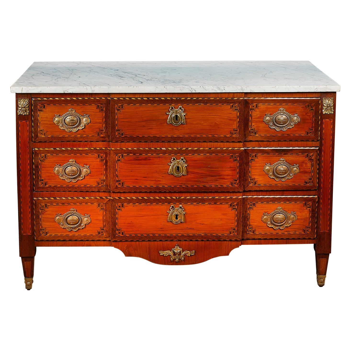 19th Century French Louis XVI Style Commode