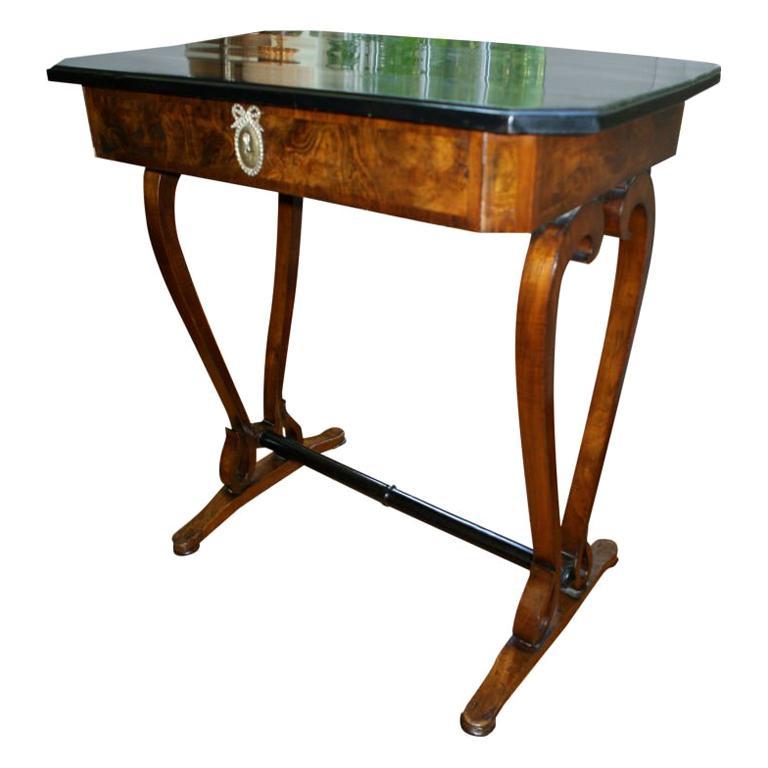 A Lovely Austrian Biedermier Writing Table/Desk