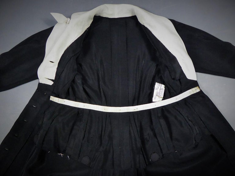 Women's A Maggy Rouff French Couture Dinner Dress Circa 1950 For Sale