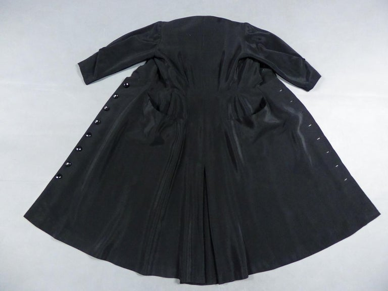 A Maggy Rouff French Couture Dinner Dress Circa 1950 For Sale 2