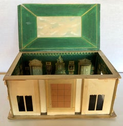 A Maquette / Model of Drawing Room for Heinz Family by Maison Jansen