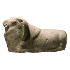 Marble Figure of a Moufflon, 3rd Millennium B.C., Probably Indus Valley