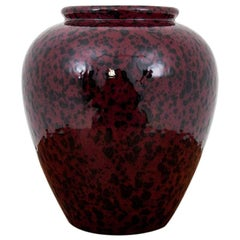 Marble Vase Made of Faiance from the 1970s