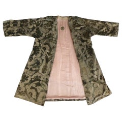 A Mariano Fortuny Gold Printed Velvet Evening Coat Italy Circa 1915/1925