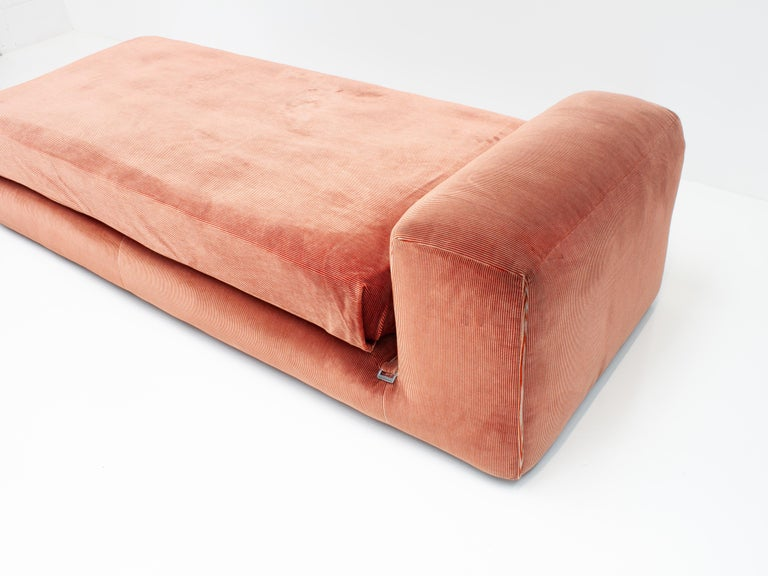 20th Century Mario Bellini 'Le Mura' Daybed, Designed in 1972 for Cassina, Italy For Sale